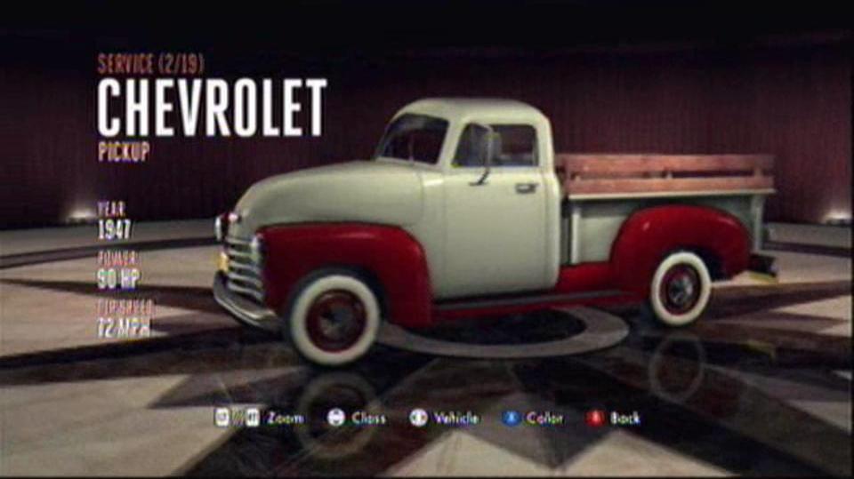 L.A. Noire Hidden Vehicles Service - Chevrolet Pickup - Westlake