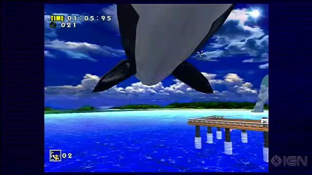 Sonic Adventure X360 - E3 2010 Whales Times