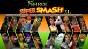 Shrek Super Smash XL Poster