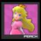 ACL Mario Kart 9 character box - Peach