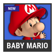 Super Smash Bros. Strife character box - Baby Mario