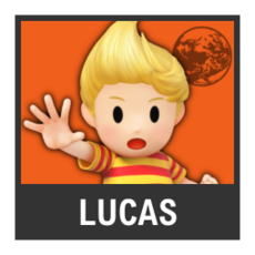 Super Smash Bros. Strife character box - Lucas