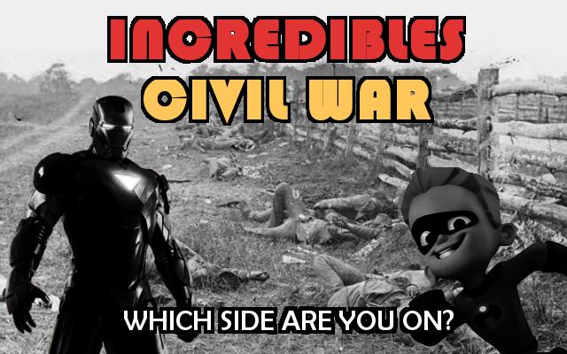 Incredibles Civil War