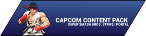 Super Smash Bros. Strife portal image - Capcom DLC