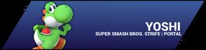 SSBStrife portal image - Yoshi