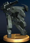 Metal Gear REX - Brawl Trophy