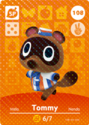 Tommy Nook - AC amiibo card