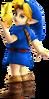 Super Smash Bros. Strife recolour - Young Link 2