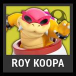Super Smash Bros. Strife character box - Roy Koopa