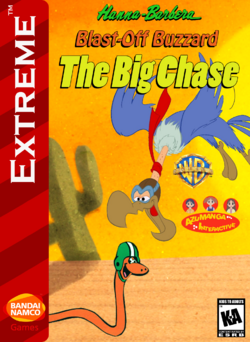 Blast-Off Buzzard The Big Chase Box Art 1