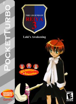 The Legend Of Reiya 3 Box Art