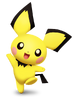 Pichu smashified transparent by kryptonlion-d8v6xh7