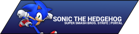 SSBStrife portal image - Sonic the Hedgehog