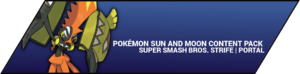 Super Smash Bros. Strife portal image - Pokemon Sun and Moon DLC