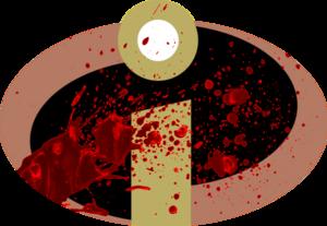 Incredibles symbol - blood