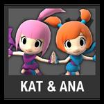 Super Smash Bros. Strife Assist box - Kat & Ana
