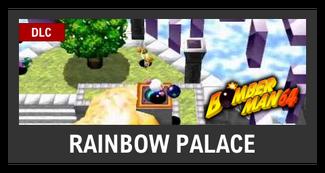 Super Smash Bros. Strife stage box - Rainbow Palace