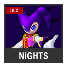 Super Smash Bros. Strife character box - NiGHTS