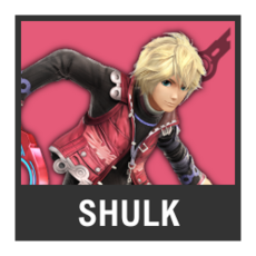 Super Smash Bros. Strife character box - Shulk
