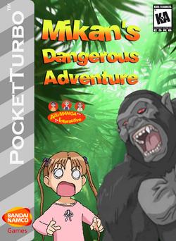 Mikan's Dangerous Adventure Box Art 2