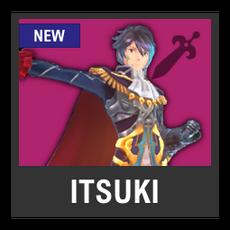 Super Smash Bros. Strife character box - Itsuki