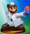 Dr. Mario Trophy (Smash) melee