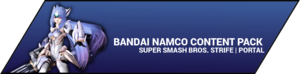 Super Smash Bros. Strife portal image - Bandai Namco DLC
