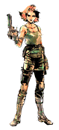 Brawl Sticker Meryl Silverburgh (MGS The Twin Snakes)