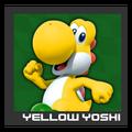 ACL Mario Kart 9 character box - Yellow Yoshi
