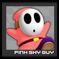 ACL Mario Kart 9 character box - Pink Shy Guy