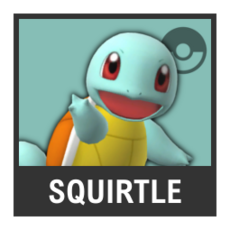 Super Smash Bros. Strife character box - Squirtle
