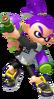 Super Smash Bros. Strife recolour - Inkling 8