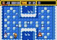 Ayu in Ice World Gameplay