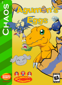 Agumon's Eggs Box Art 2