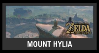 Super Smash Bros. Strife stage box - Mount Hylia