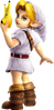 Super Smash Bros. Strife recolour - Young Link 7