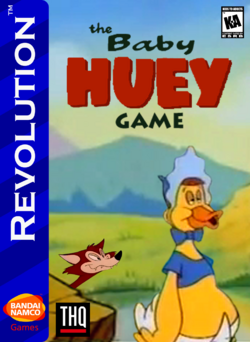 The Baby Huey Game Box Art 2