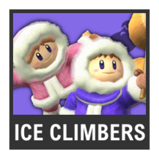 Super Smash Bros. Strife character box - Ice Climbers