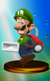 Vacuum Luigi Trophy Melee
