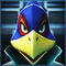 Star Fox 64 3D headshot - Falco Lombardi