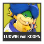 Super Smash Bros. Strife character box - Ludwig von Koopa