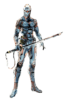 Brawl Sticker Gray Fox (MGS The Twin Snakes)