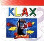 Klax Commodore 64 portada EEUU