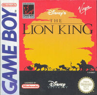 The Lion King portada GB EUR