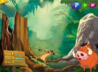 Timon and Pumbaa's Grub Riding