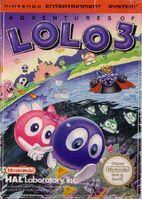 Adventures of Lolo 3 - Portada EUR