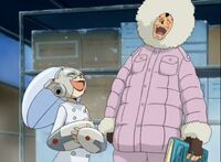 Robnos y Ruku anime