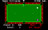 Super Billiards x1