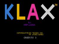 Klax TurboGrafx-16 captura1