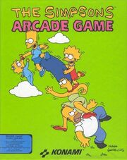 The Simpsons - Arcade Game - Portada.jpg